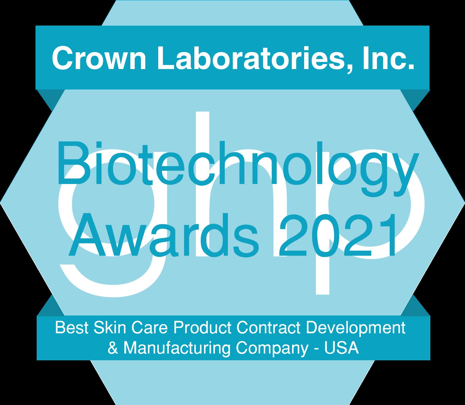 Biotechnology Awards 2021 Winners Logo